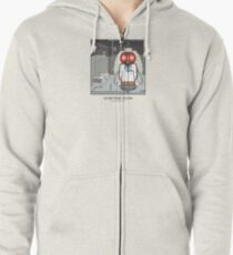 Scientist Dude Zipped Hoodie