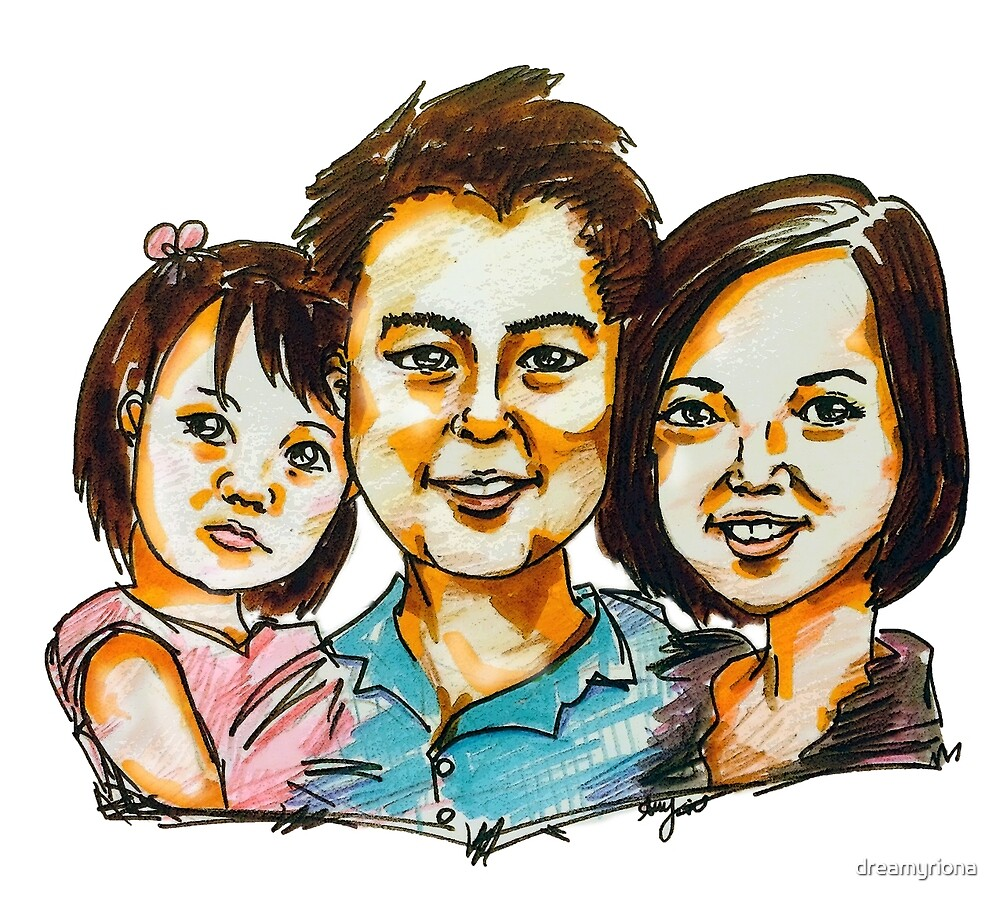 The Wang Family =) by dreamyriona