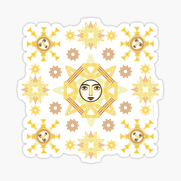 Snowflakes Collection by ©Balbusso Twins Sticker