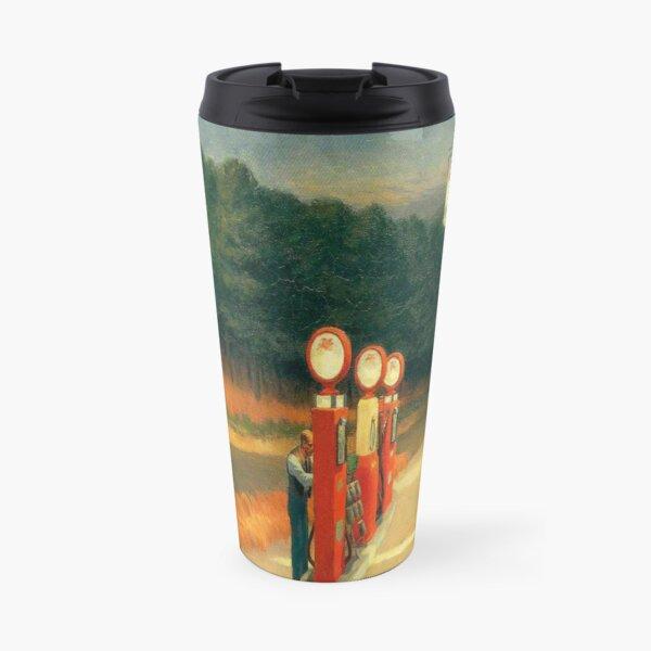 Gas-Edward Hopper Travel Mug