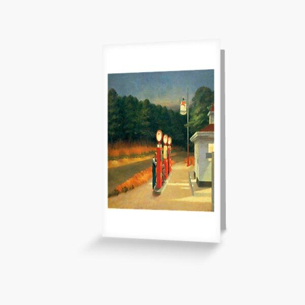 Gas-Edward Hopper Greeting Card
