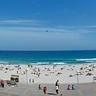 Quiet Day At Bondi Beach by Mick Duck