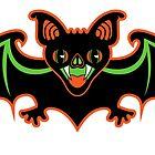 Weinlese-Halloween-Schläger von epitomegirl