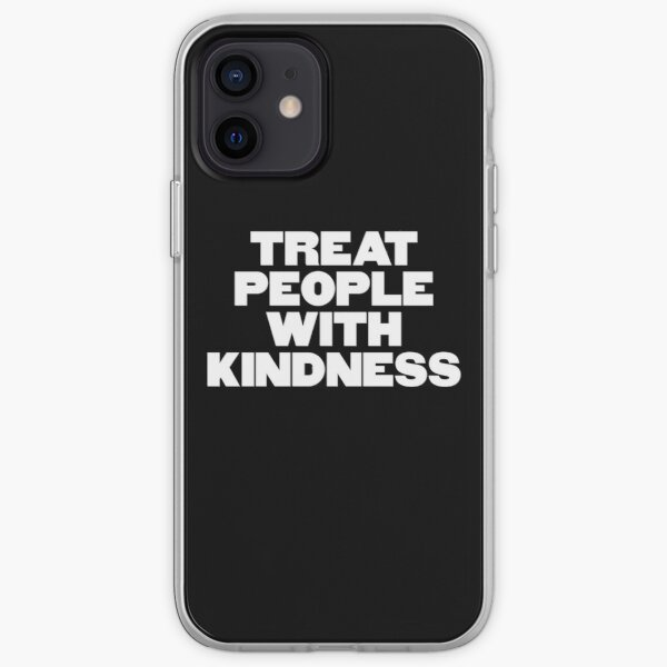 TREAT PEOPLE WITH KINDNESS - HARRY STYLES iPhone Soft Case