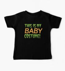 This is my BABY costume (Halloween funny design) Kids Clothes