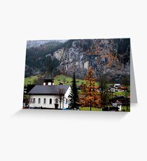 Suisse #3 Greeting Card