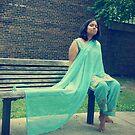 Blue Bollywood by Lita Medinger