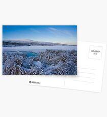 frosty Postcards
