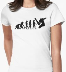 Evolution(Black) - Warhammer 40k Women's Fitted T-Shirt