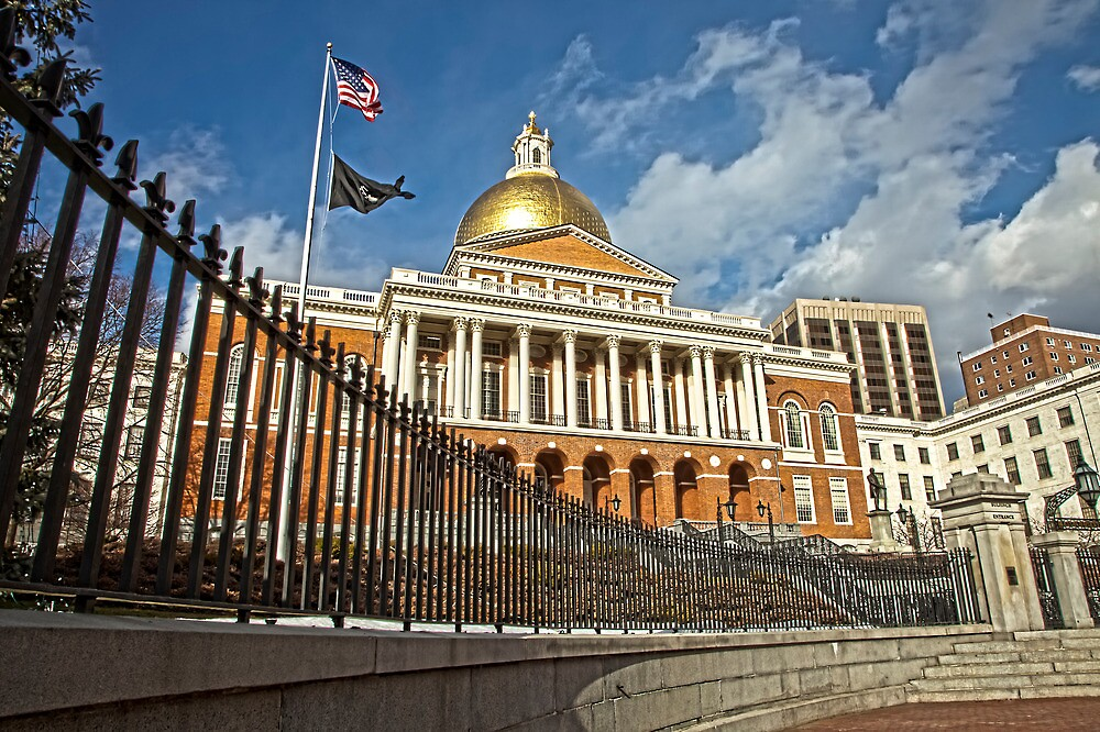 Massachusetts State House by Stephen Cross Photography