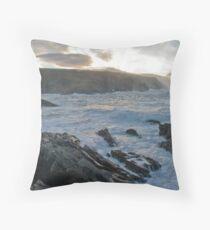 stormysea Throw Pillow