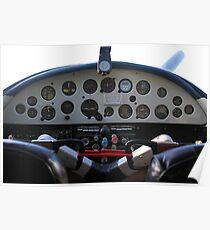 Cessna  195 cabin Poster