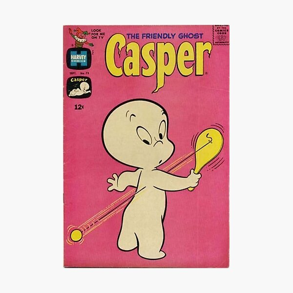 Vintage casper comic Photographic Print