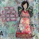 She took the leap and built her wings on the way down by lonebirdstudio