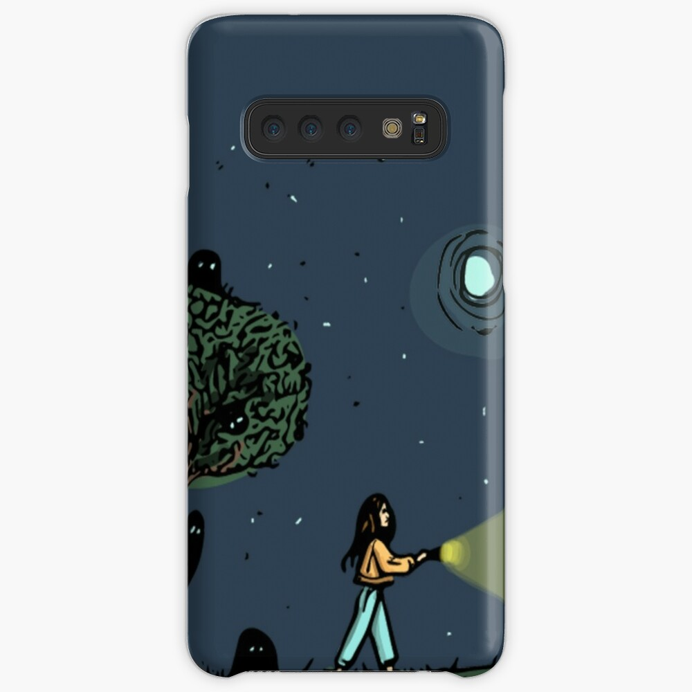 ghost hunting Case & Skin for Samsung Galaxy