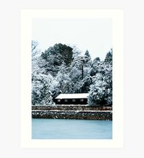 In The Middle Of Exeter.. Art Print