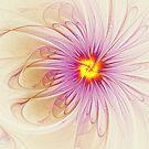 Purple Blossom by Deborah  Benoit