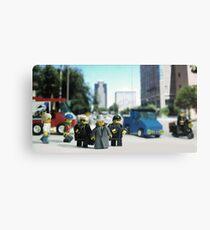 Lego Bodyguards Canvas Print