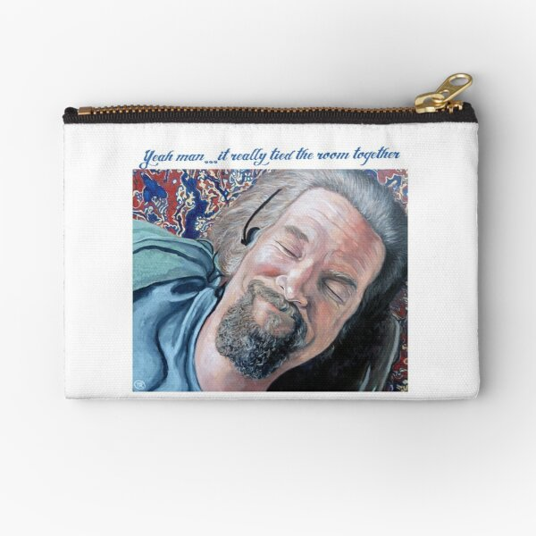 The Dude Zipper Pouch
