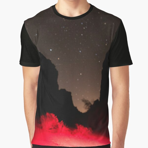New Mexico Night Graphic T-Shirt