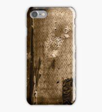 vintage paper iPhone Case/Skin