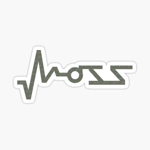 Moss on Moss Sticker