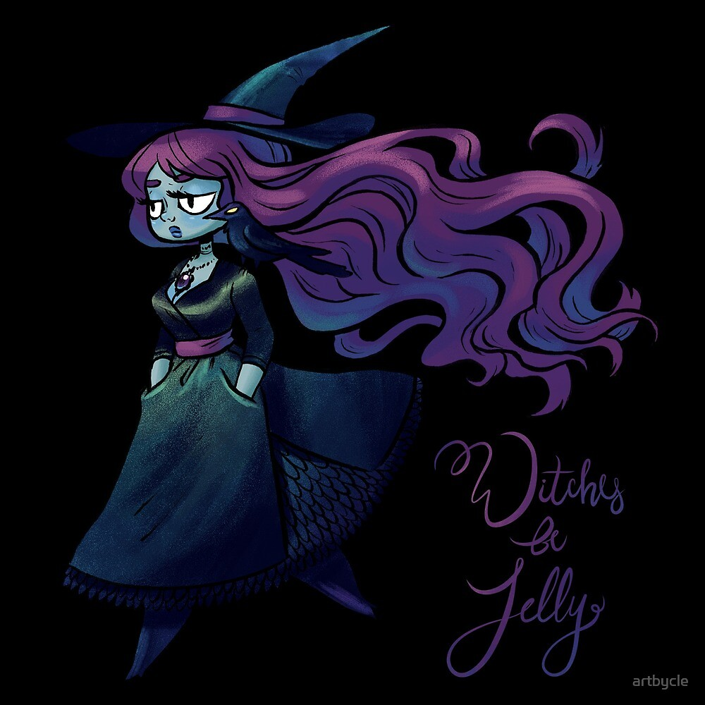 Witches Be Jelly by artbycle