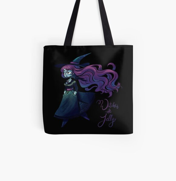 Witches Be Jelly All Over Print Tote Bag