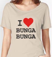 I Love BUNGA BUNGA Women's Relaxed Fit T-Shirt