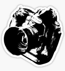 Camera from heaven Sticker