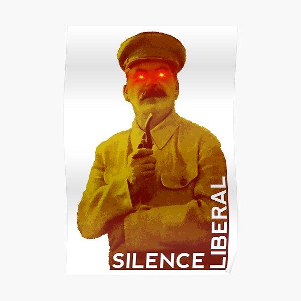 Silence liberal Poster