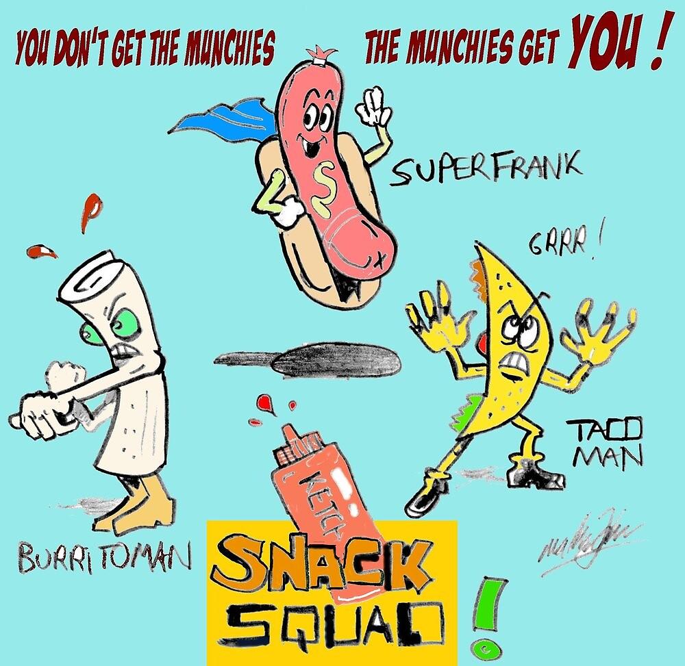 Snack Squad by mattycarpets