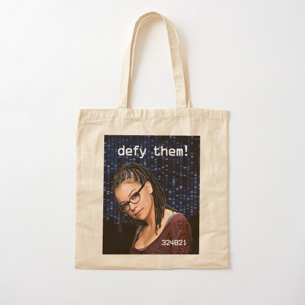 Cosima Niehaus - Defy them! Cotton Tote Bag