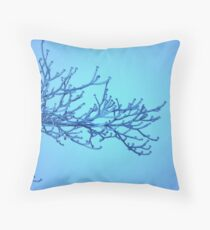 treated colder Throw Pillow