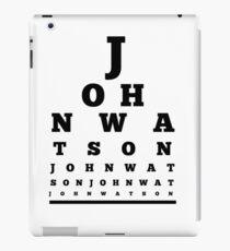 John Watson T-Shirt iPad Case/Skin