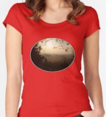Misty Morning in Vicenza Women's Fitted Scoop T-Shirt
