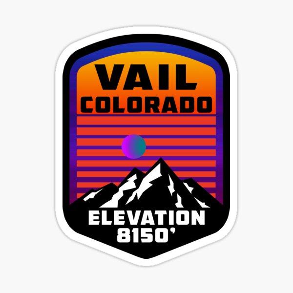 Ski Vail Colorado Skiing  Sticker