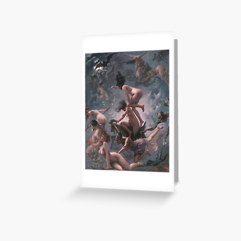 Witches Going To Their Sabbath,  papergc,500x,w,f8f8f8-pad,1000x1000,f8f8f8