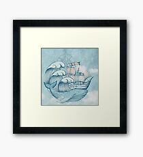 Ship  Framed Print