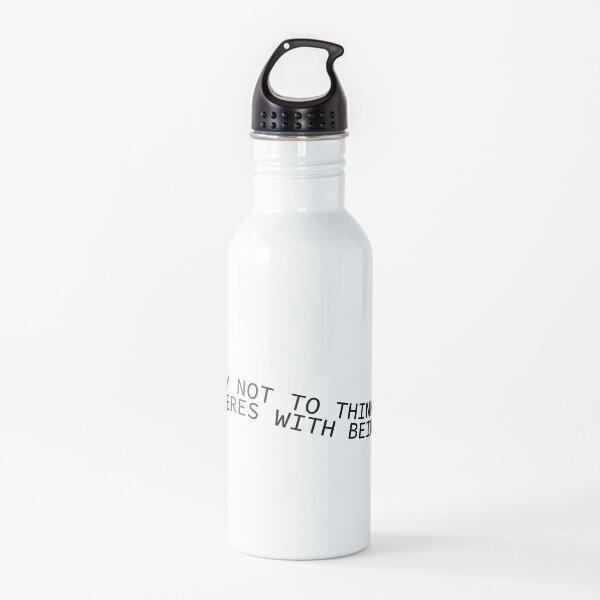 Interfiere con estar loco Botella de agua
