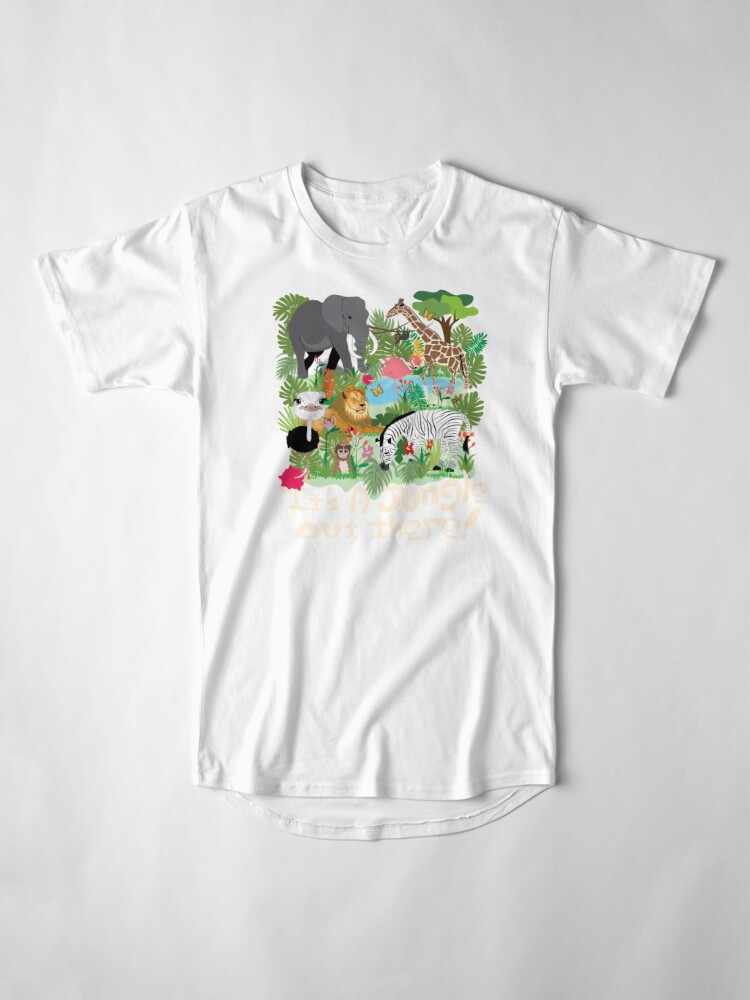Alternate view of It's a Jungle out There! Long T-Shirt