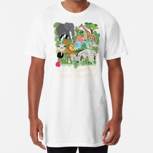 It's a Jungle out There! Long T-Shirt