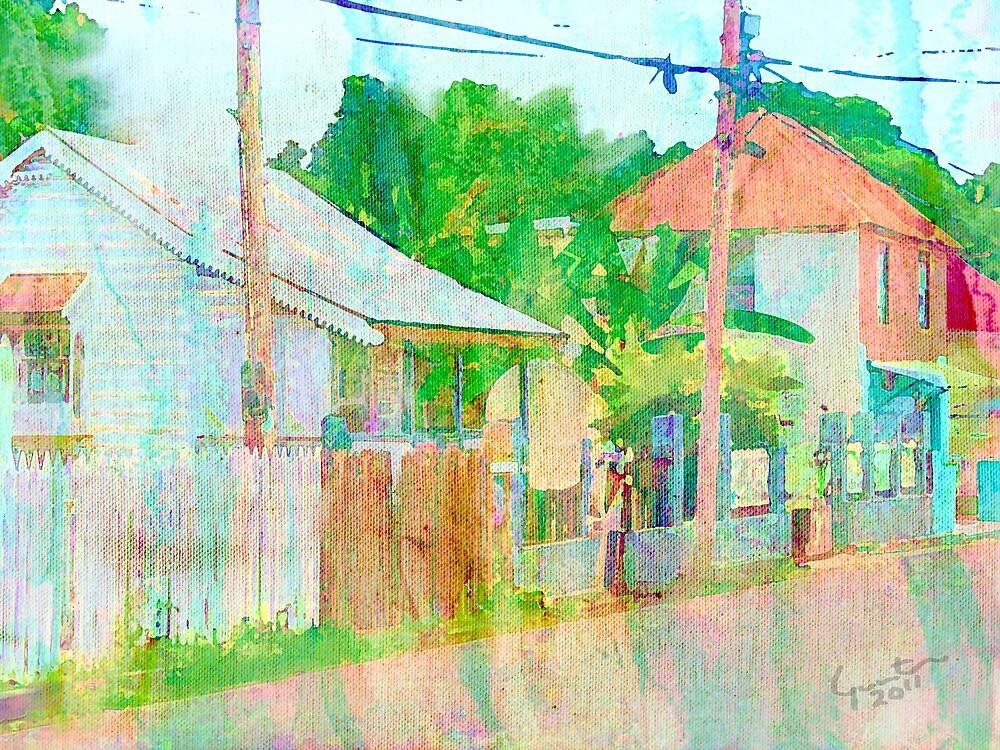 di village by Carvil Gunter