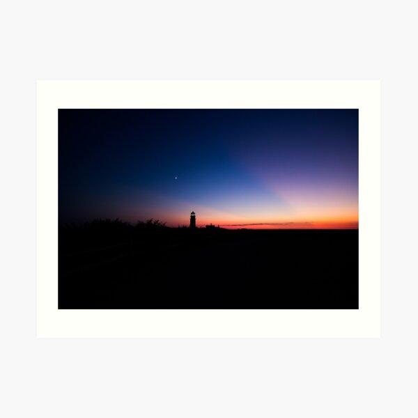 Sunset at the Highland Lighthouse Art Print