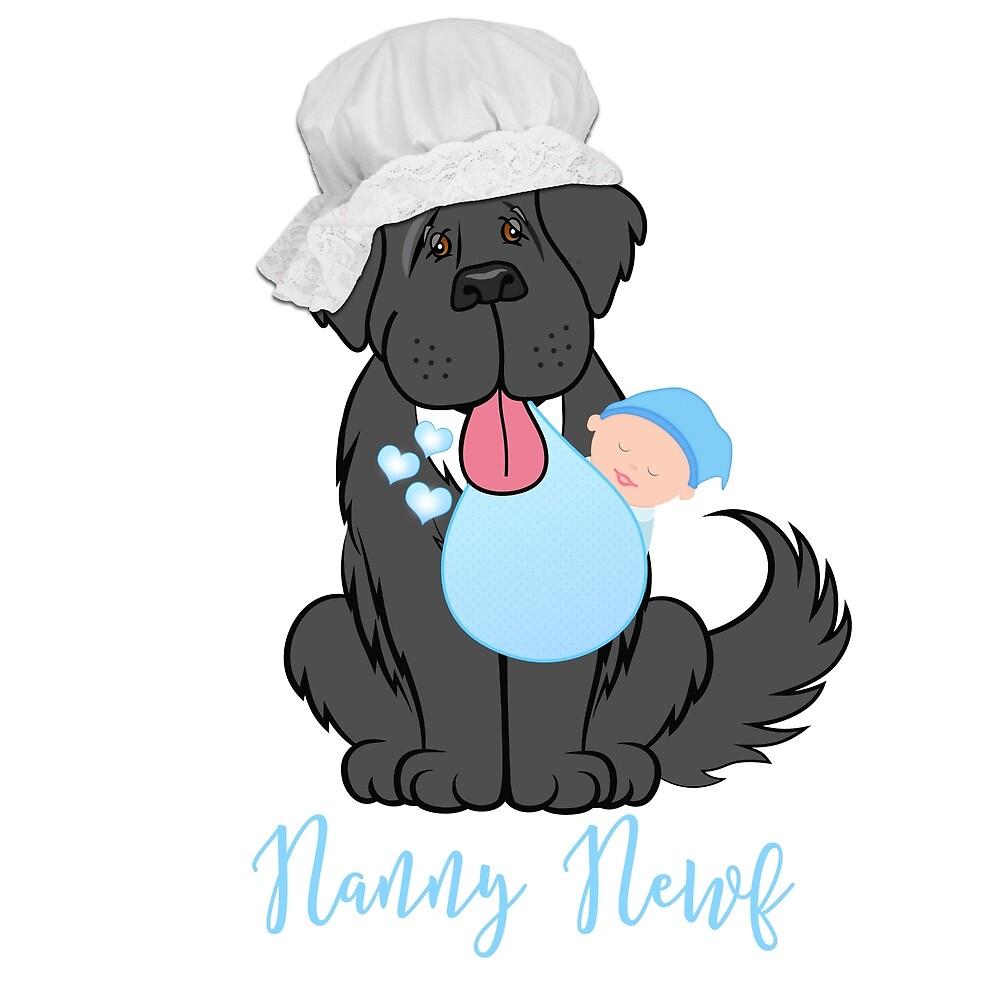 Nanny Newf by Christine Mullis