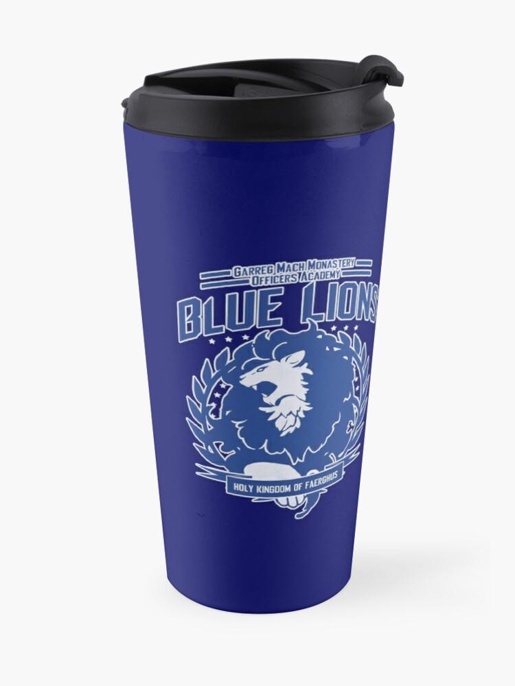 Alternate view of Blue Lions Class Travel Mug