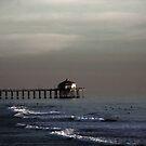 HB Surfers - Huntington Beach CA by Aurora Vaz