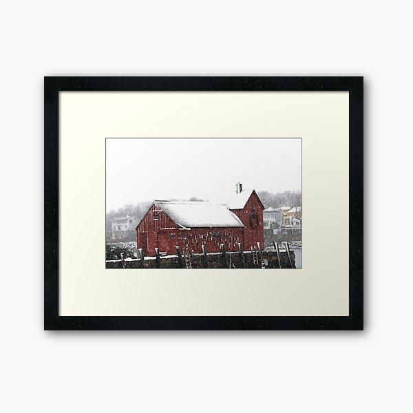Motif #1 in the Winter Framed Art Print