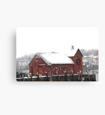 Motif #1 in the Winter Canvas Print