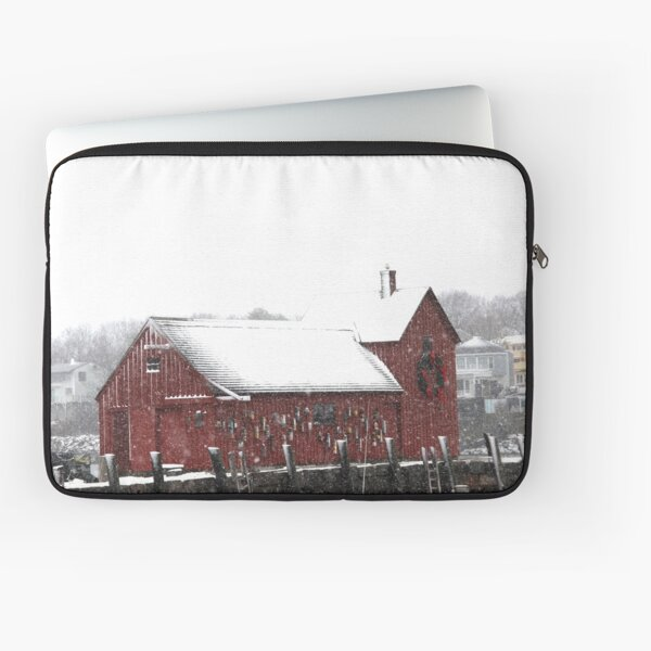 Motif #1 in the Winter Laptop Sleeve